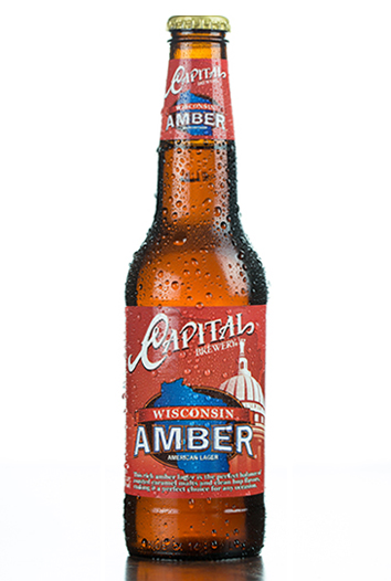 Wisconsin Amber Bottle