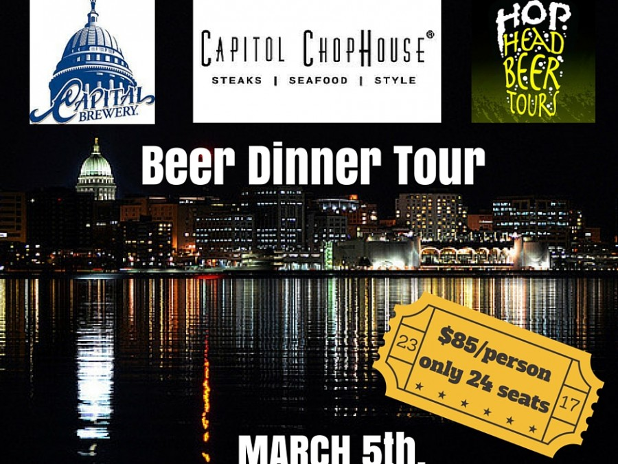 Hop Head Beer Dinner Tour