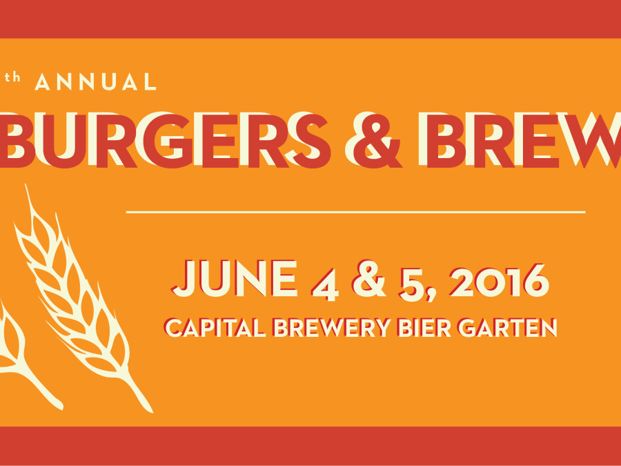 Burgers and brews banner